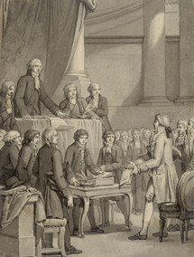 Assembly of the Jews of France in 1807 © RMN / G. Blot