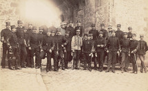 Officers from the Ecole Supérieure de Guerre. Private coll.