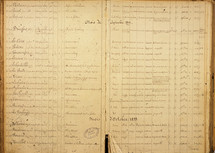 Register of the Rennes court martial © AD d'IIle-et-Vilaine