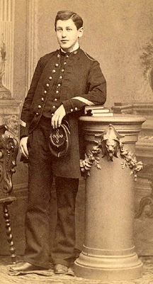 Alfred Dreyfus as a schoolboy. Private coll.