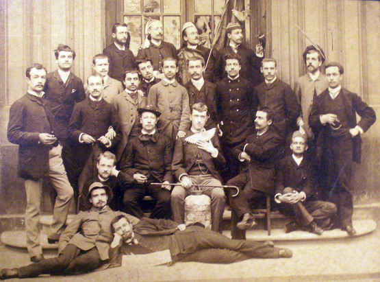 Ecole Normale Supérieure class of 1883, with several future Dreyfusards