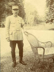 Commander Dreyfus circa 1917 © Coll. part.