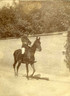 Alfred Dreyfus on horseback. Private coll.